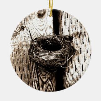 Nest Ceramic Ornament