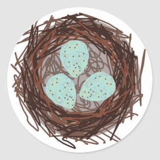 Nest Classic Round Sticker