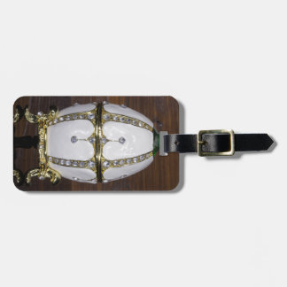 Nest of Pearls eggs Luggage Tag