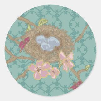 Nest sticker by Bari J.