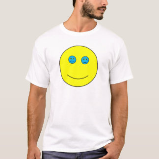 Nested Smiles Blue Eyes T-Shirt