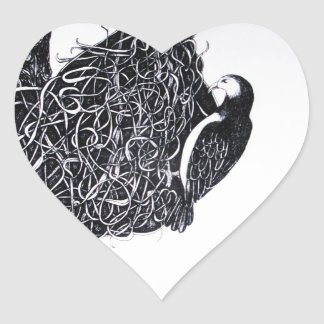 nesting 2 heart sticker