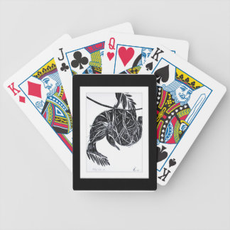 nesting 4 bicycle playing cards