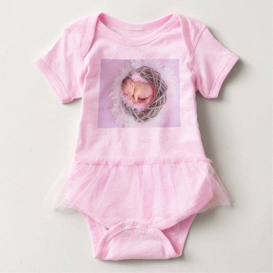 Nesting Baby - Baby Tutu Bodysuit