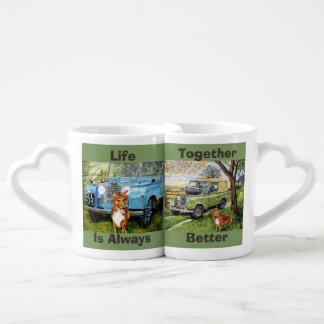 Nesting Cups Lovers Mug Sets