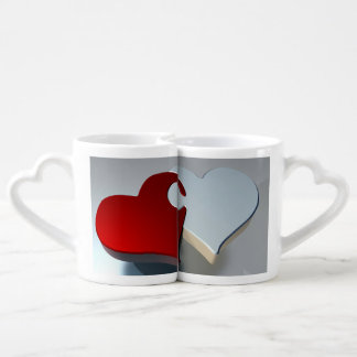 Nesting Hearts Couples Mugs