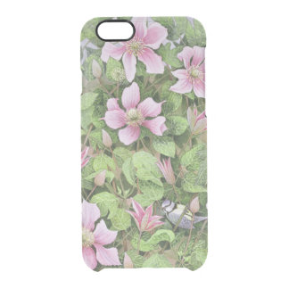 Nesting in Clematis Clear iPhone 6/6S Case