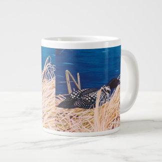 Nesting Loon Jumbo Mugs