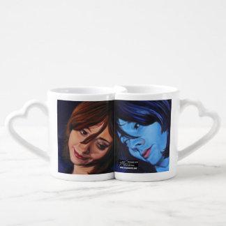 """Nesting mug, """"Reconciling with Self"""" Coffee Mug Set"""