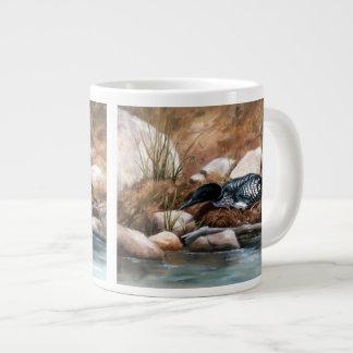 Nesting Time Loon Jumbo Mug