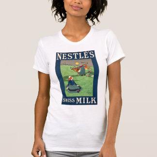 Nestle's Swiss Milk W's white T-Shirt