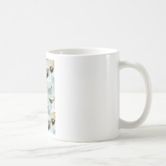 Nests and small birds coffee mug