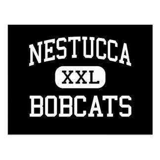 Nestucca - Bobcats - High - Cloverdale Oregon Postcard