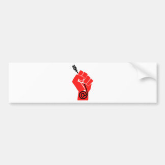 Net Neutrality Fist Bumper Sticker