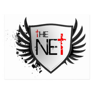 Net Official Logo Postcard