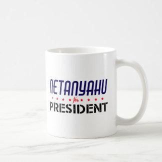 Netanyahu for President Coffee Mug