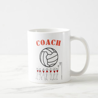 Netball Ball Themed Team Coach Coffee Mug