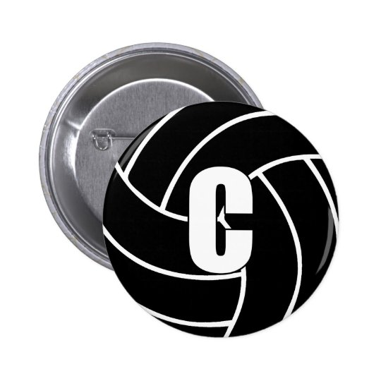 Netball Centre C 2 Inch Round Button