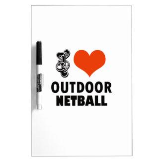 Netball design dry erase board