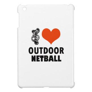 Netball design iPad mini case