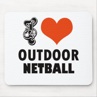 Netball design mouse pad