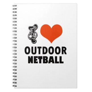 Netball design notebook