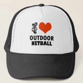 Netball design trucker hat