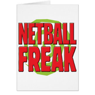 Netball Freak R Card