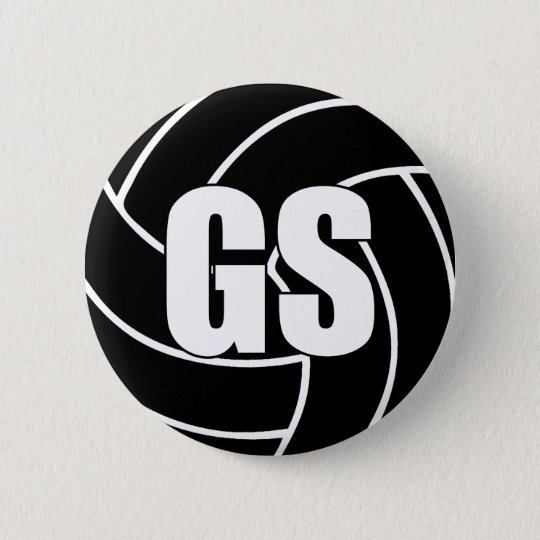 Netball Goal Shooter GS 2 Inch Round Button
