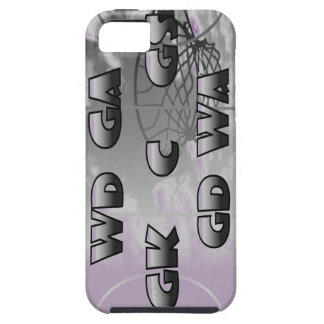 Netball Player Positions Design iPhone 5 Case