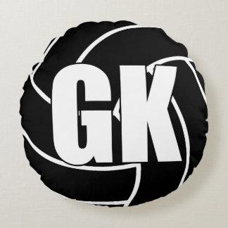 Netball Players - Goal Keeper - GK Round Pillow