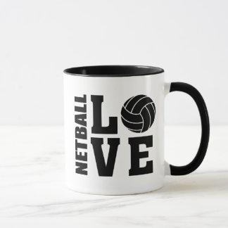 Netball Players I Love Netball Mug