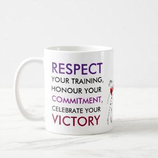 Netball Players Inspirational Sport Quote Coffee Mug