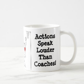Netball Positions Themed Design With Funny Quote Coffee Mug