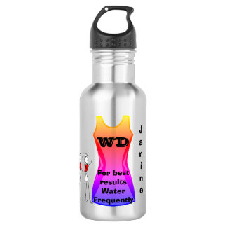 Netball Themed Positions and Funny Quote 532 Ml Water Bottle