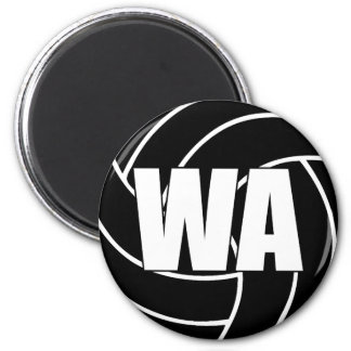 Netball Wing Attack Magnet