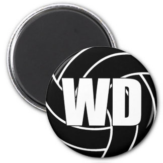Netball Wing Defense Magnet