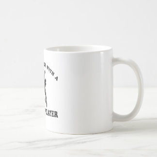 Netballer Vector Designs Classic White Coffee Mug