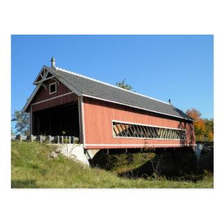 Netcher Rd Covered Bridge Ashtabula County Ohio Postcard