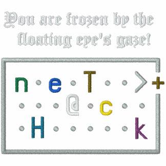 Nethack Floating Eye Embroidered Hoody