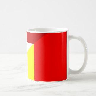 netherland belgium flag half country flag coffee mug