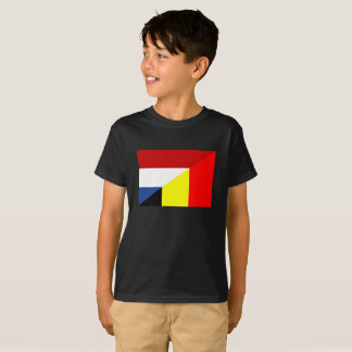 netherland belgium flag half country flag T-Shirt