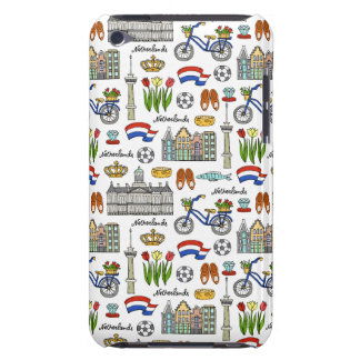 Netherland Doodle Pattern iPod Touch Case