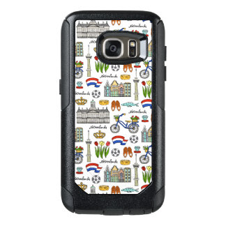 Netherland Doodle Pattern OtterBox Samsung Galaxy S7 Case