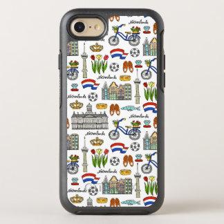 Netherland Doodle Pattern OtterBox Symmetry iPhone 7 Case