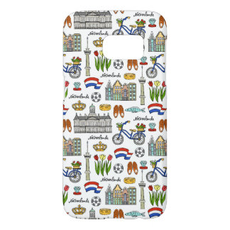 Netherland Doodle Pattern Samsung Galaxy S7 Case
