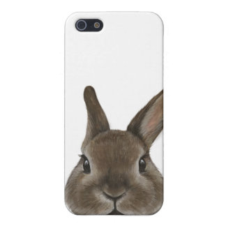 Netherland Dwarf rabbit by miat iPhone 5/5S Case