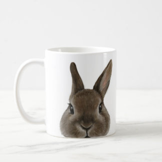 Netherland Dwarf rabbit original design by miart Coffee Mug