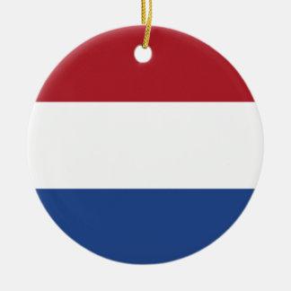 Netherland Holland Patriotic Pattern Ceramic Ornament