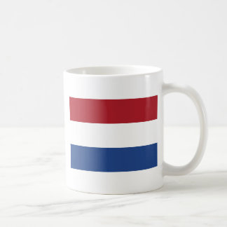 Netherland Holland Patriotic Pattern Coffee Mug